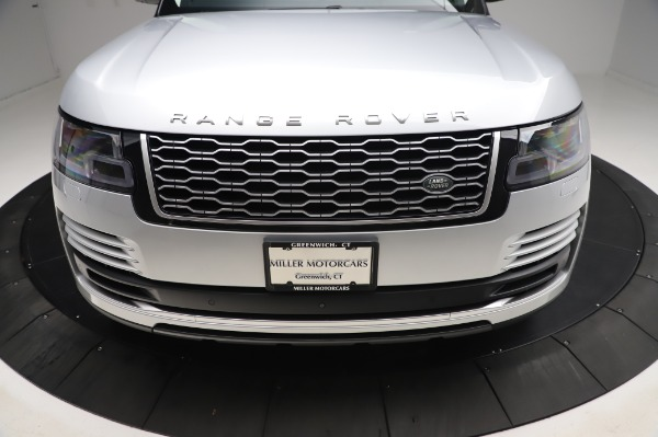 Used 2019 Land Rover Range Rover Supercharged LWB for sale Sold at Bugatti of Greenwich in Greenwich CT 06830 26