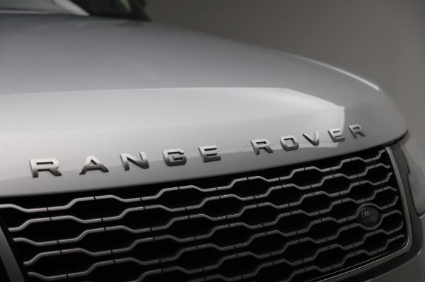 Used 2019 Land Rover Range Rover Supercharged LWB for sale Sold at Bugatti of Greenwich in Greenwich CT 06830 27