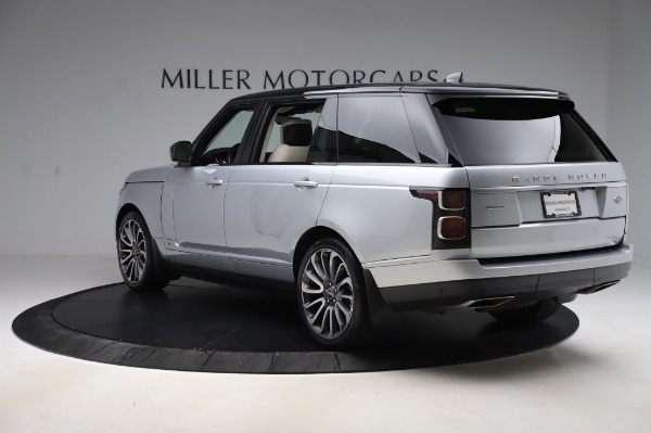Used 2019 Land Rover Range Rover Supercharged LWB for sale Sold at Bugatti of Greenwich in Greenwich CT 06830 5