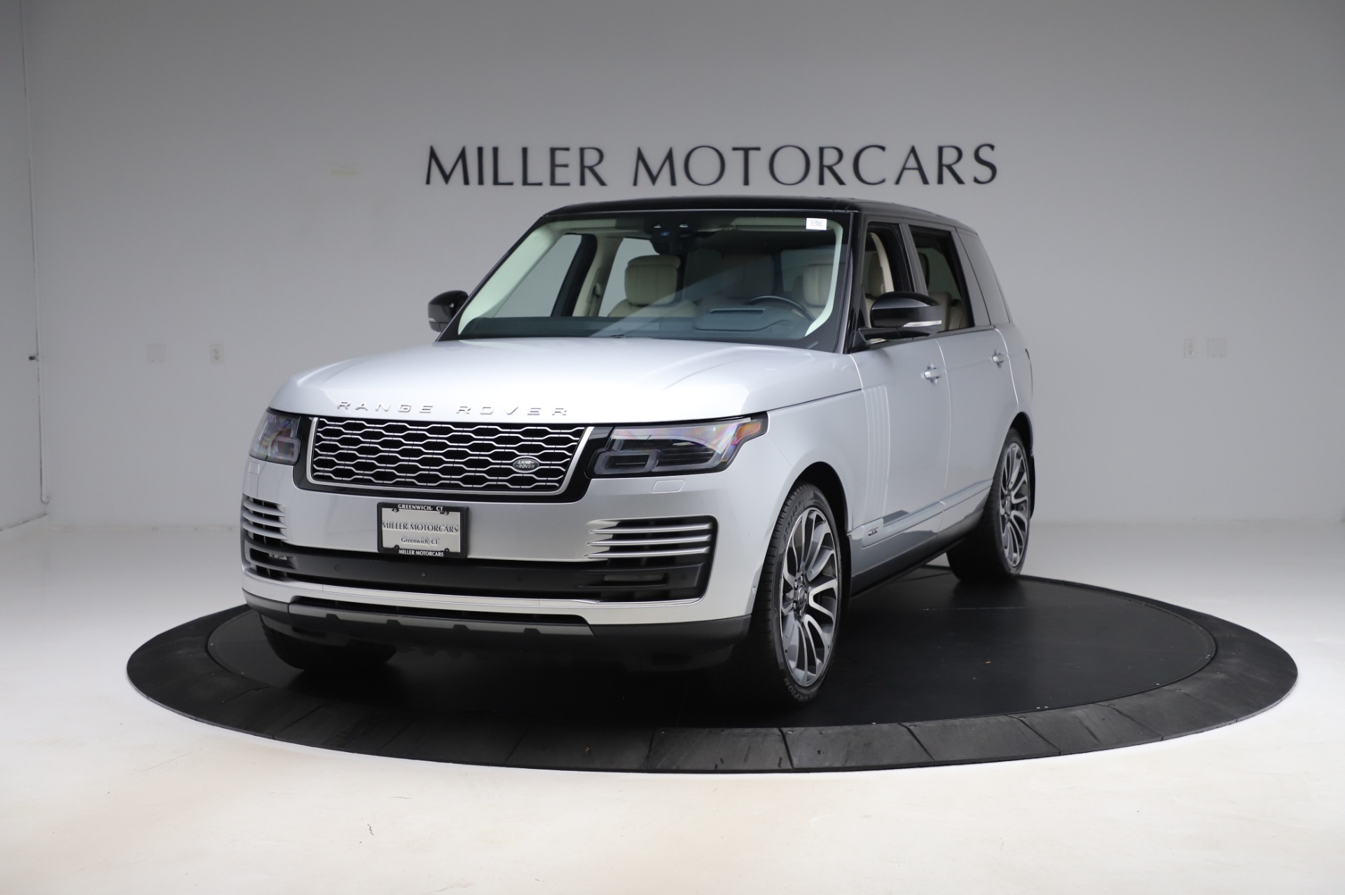 Used 2019 Land Rover Range Rover Supercharged LWB for sale Sold at Bugatti of Greenwich in Greenwich CT 06830 1