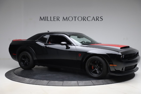 Used 2018 Dodge Challenger SRT Demon for sale Call for price at Bugatti of Greenwich in Greenwich CT 06830 10