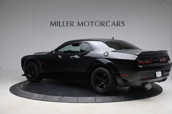 Used 2018 Dodge Challenger SRT Demon for sale Call for price at Bugatti of Greenwich in Greenwich CT 06830 4