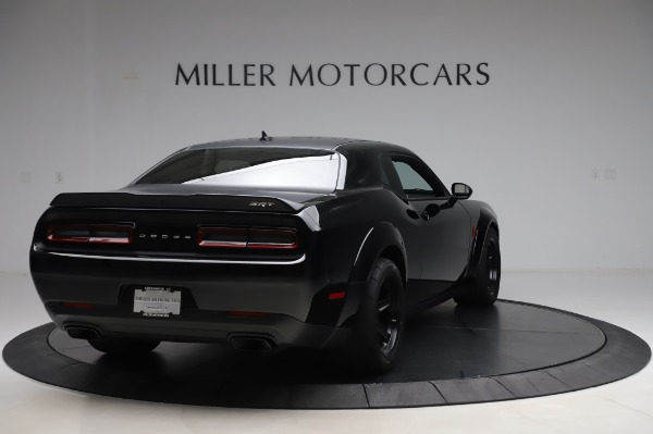 Used 2018 Dodge Challenger SRT Demon for sale Call for price at Bugatti of Greenwich in Greenwich CT 06830 7