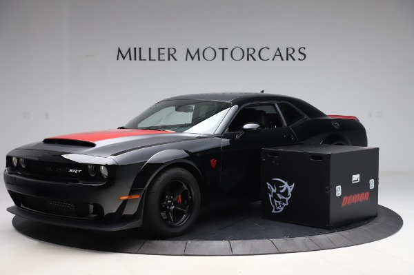 Used 2018 Dodge Challenger SRT Demon for sale Call for price at Bugatti of Greenwich in Greenwich CT 06830 1