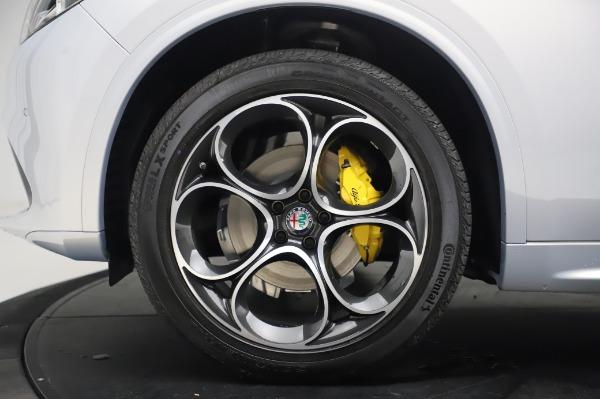 New 2020 Alfa Romeo Stelvio Ti Lusso Q4 for sale Sold at Bugatti of Greenwich in Greenwich CT 06830 14