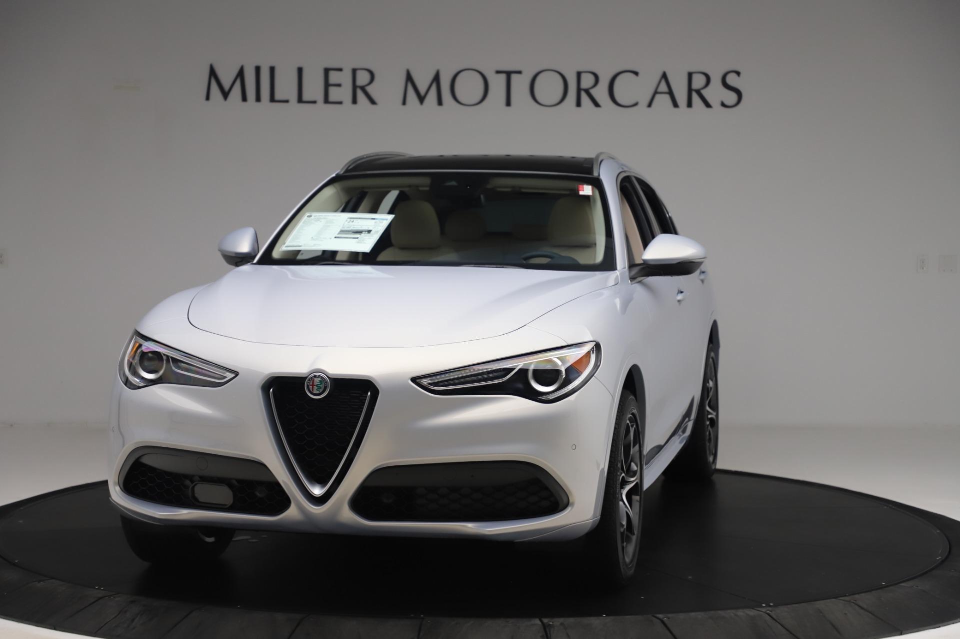 New 2020 Alfa Romeo Stelvio Ti Lusso Q4 for sale Sold at Bugatti of Greenwich in Greenwich CT 06830 1