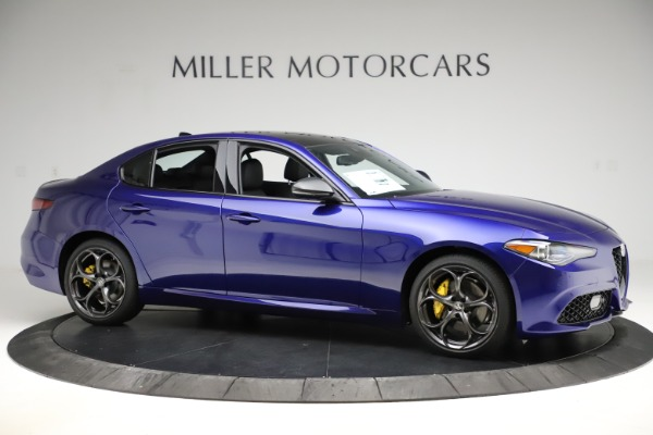 New 2020 Alfa Romeo Giulia Ti Sport Q4 for sale $47,995 at Bugatti of Greenwich in Greenwich CT 06830 10
