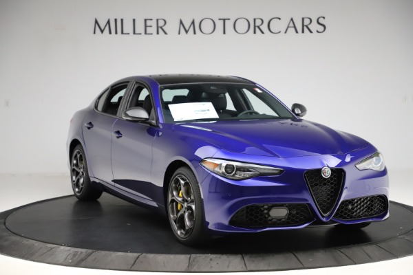 New 2020 Alfa Romeo Giulia Ti Sport Q4 for sale $47,995 at Bugatti of Greenwich in Greenwich CT 06830 11