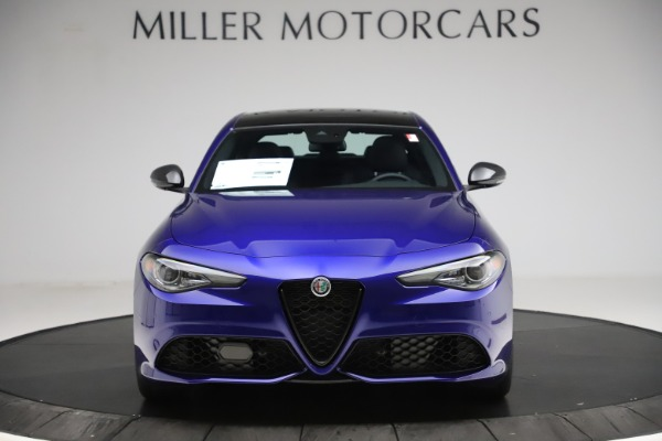 New 2020 Alfa Romeo Giulia Ti Sport Q4 for sale $47,995 at Bugatti of Greenwich in Greenwich CT 06830 12