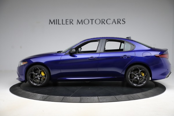 New 2020 Alfa Romeo Giulia Ti Sport Q4 for sale $47,995 at Bugatti of Greenwich in Greenwich CT 06830 3