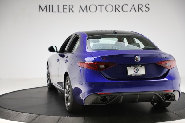 New 2020 Alfa Romeo Giulia Ti Sport Q4 for sale $47,995 at Bugatti of Greenwich in Greenwich CT 06830 5