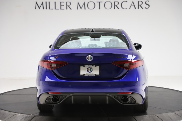 New 2020 Alfa Romeo Giulia Ti Sport Q4 for sale $47,995 at Bugatti of Greenwich in Greenwich CT 06830 6