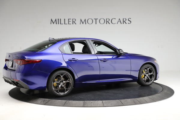 New 2020 Alfa Romeo Giulia Ti Sport Q4 for sale $47,995 at Bugatti of Greenwich in Greenwich CT 06830 8