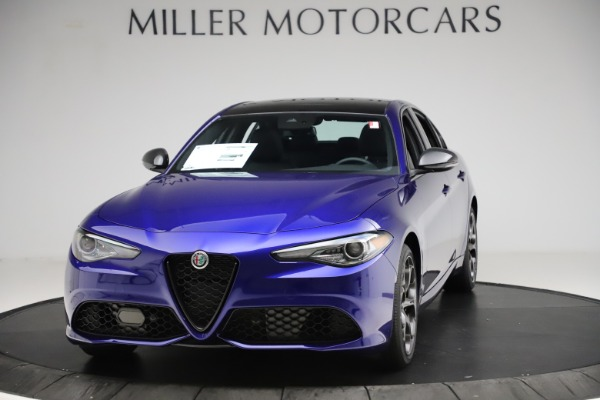 New 2020 Alfa Romeo Giulia Ti Sport Q4 for sale $47,995 at Bugatti of Greenwich in Greenwich CT 06830 1