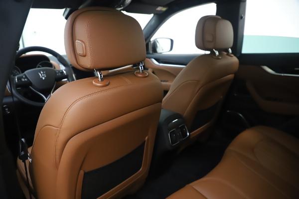 New 2020 Maserati Levante Q4 for sale $84,499 at Bugatti of Greenwich in Greenwich CT 06830 20