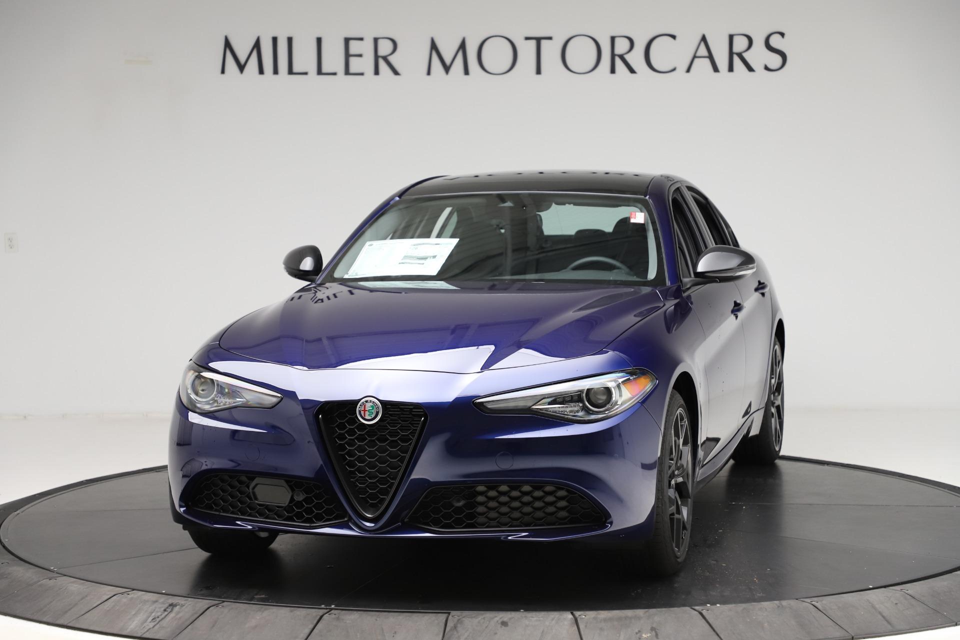New 2020 Alfa Romeo Giulia Ti Q4 for sale $48,545 at Bugatti of Greenwich in Greenwich CT 06830 1