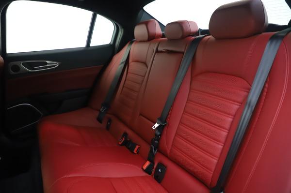 New 2020 Alfa Romeo Giulia Ti Sport Q4 for sale $46,495 at Bugatti of Greenwich in Greenwich CT 06830 18