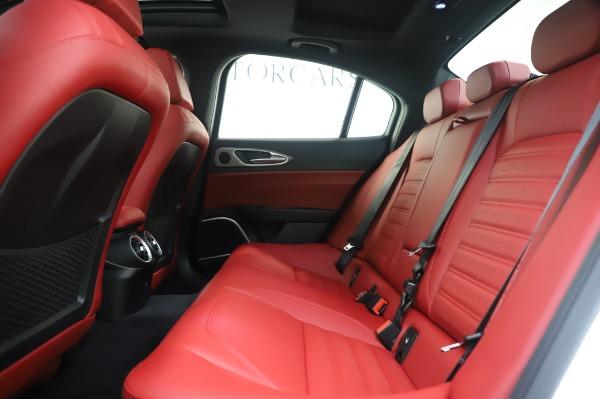 New 2020 Alfa Romeo Giulia Ti Sport Q4 for sale $46,495 at Bugatti of Greenwich in Greenwich CT 06830 19