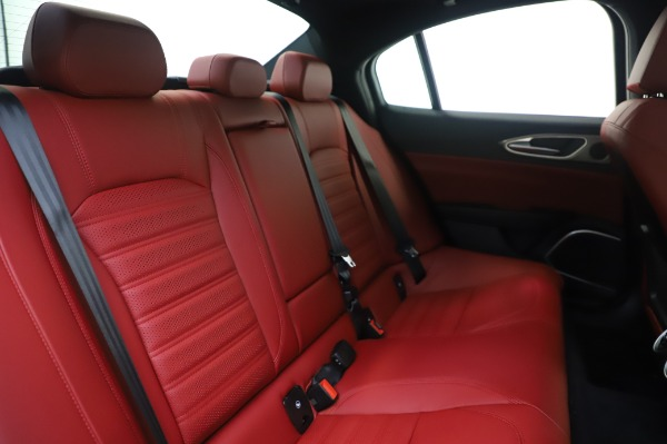 New 2020 Alfa Romeo Giulia Ti Sport Q4 for sale $46,495 at Bugatti of Greenwich in Greenwich CT 06830 26