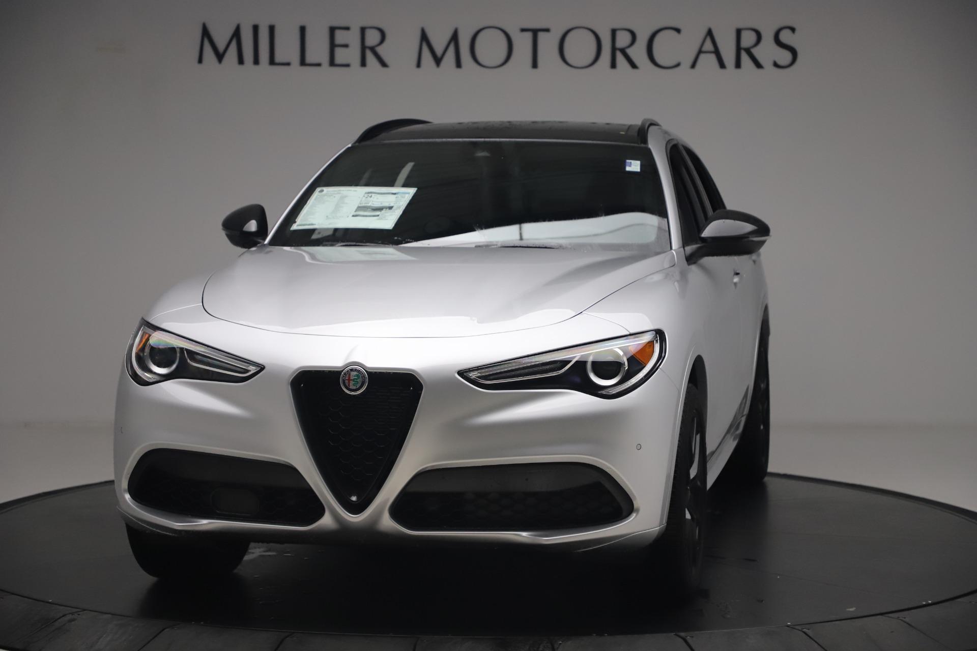 New 2020 Alfa Romeo Stelvio Ti Sport Q4 for sale $54,795 at Bugatti of Greenwich in Greenwich CT 06830 1