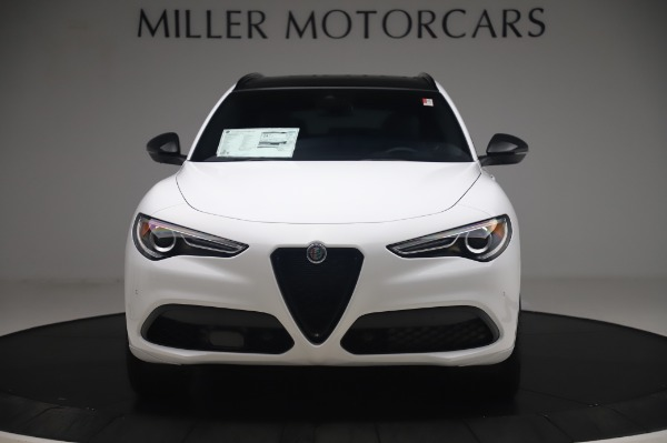New 2020 Alfa Romeo Stelvio Ti Sport Q4 for sale $56,495 at Bugatti of Greenwich in Greenwich CT 06830 12