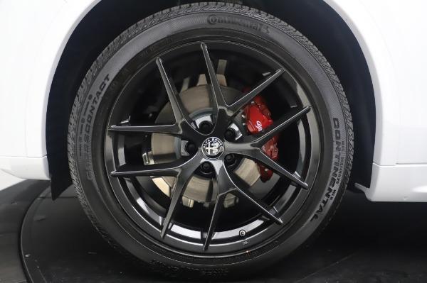 New 2020 Alfa Romeo Stelvio Ti Sport Q4 for sale $56,495 at Bugatti of Greenwich in Greenwich CT 06830 14