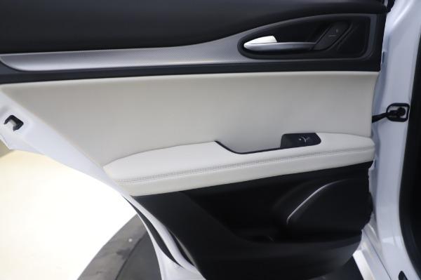 New 2020 Alfa Romeo Stelvio Ti Sport Q4 for sale $56,495 at Bugatti of Greenwich in Greenwich CT 06830 22