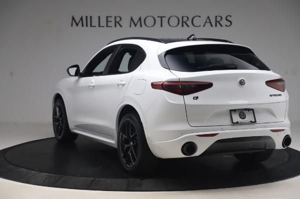 New 2020 Alfa Romeo Stelvio Ti Sport Q4 for sale $56,495 at Bugatti of Greenwich in Greenwich CT 06830 5