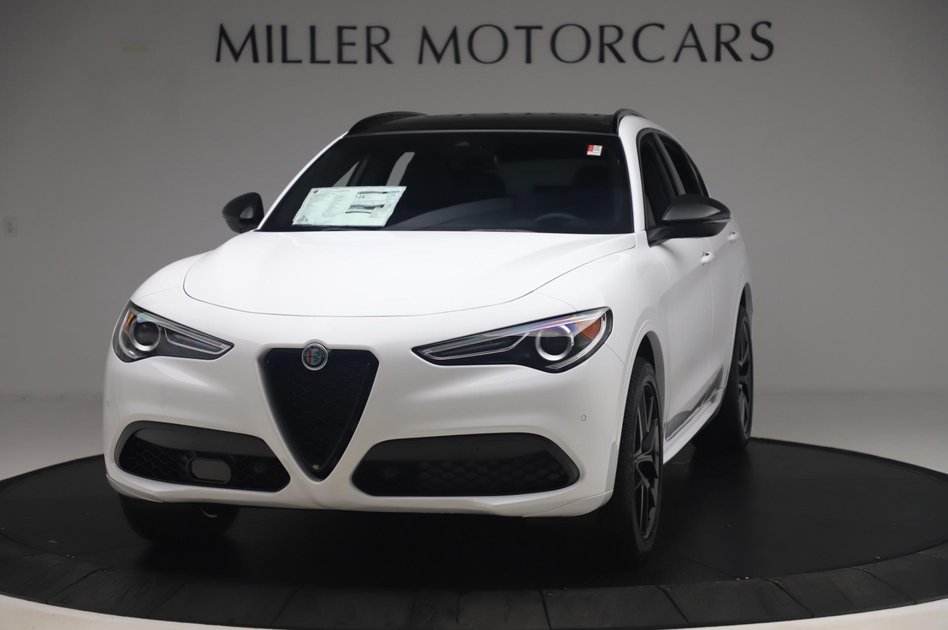 New 2020 Alfa Romeo Stelvio Ti Sport Q4 for sale $56,495 at Bugatti of Greenwich in Greenwich CT 06830 1