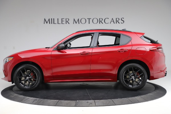 New 2020 Alfa Romeo Stelvio Ti Sport Q4 for sale $54,195 at Bugatti of Greenwich in Greenwich CT 06830 2