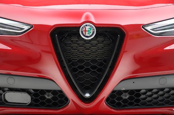 New 2020 Alfa Romeo Stelvio Ti Sport Q4 for sale $54,195 at Bugatti of Greenwich in Greenwich CT 06830 7