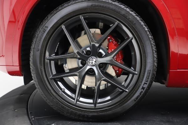 New 2020 Alfa Romeo Stelvio Ti Sport Q4 for sale $54,195 at Bugatti of Greenwich in Greenwich CT 06830 8