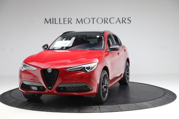 New 2020 Alfa Romeo Stelvio Ti Sport Q4 for sale $54,195 at Bugatti of Greenwich in Greenwich CT 06830 1