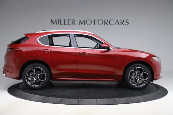 New 2020 Alfa Romeo Stelvio Ti Lusso Q4 for sale Sold at Bugatti of Greenwich in Greenwich CT 06830 9