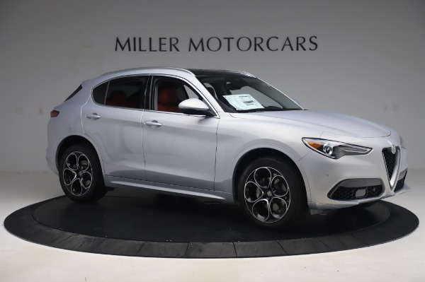 New 2020 Alfa Romeo Stelvio Ti Lusso Q4 for sale $54,145 at Bugatti of Greenwich in Greenwich CT 06830 10