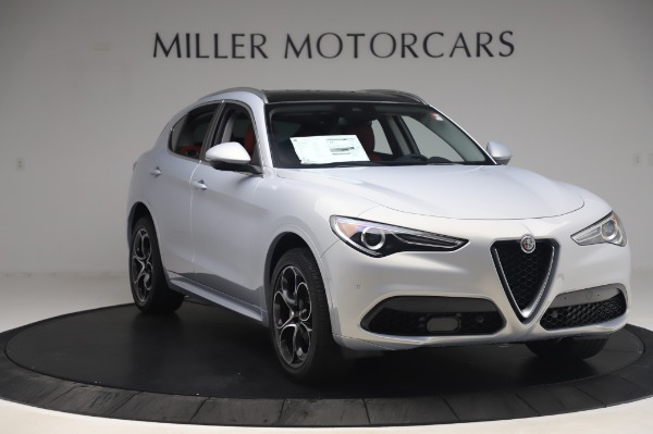 New 2020 Alfa Romeo Stelvio Ti Lusso Q4 for sale $54,145 at Bugatti of Greenwich in Greenwich CT 06830 11