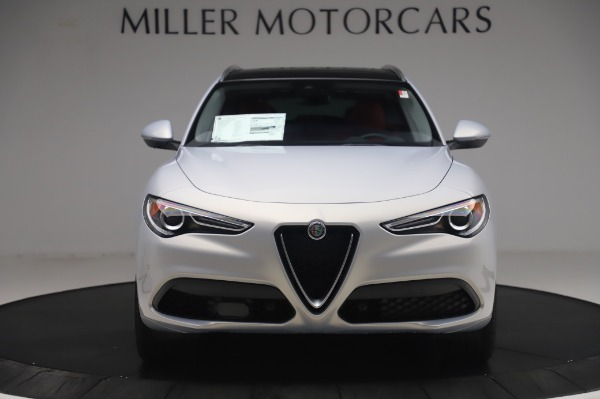 New 2020 Alfa Romeo Stelvio Ti Lusso Q4 for sale $54,145 at Bugatti of Greenwich in Greenwich CT 06830 12