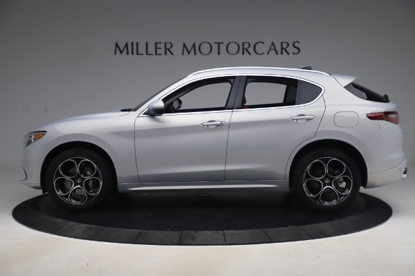 New 2020 Alfa Romeo Stelvio Ti Lusso Q4 for sale $54,145 at Bugatti of Greenwich in Greenwich CT 06830 3