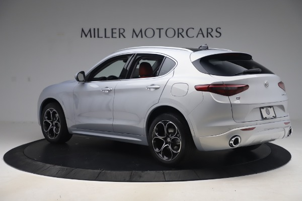 New 2020 Alfa Romeo Stelvio Ti Lusso Q4 for sale $54,145 at Bugatti of Greenwich in Greenwich CT 06830 4