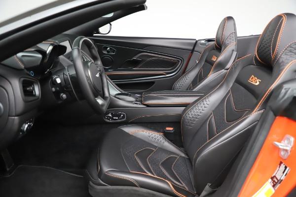 Used 2020 Aston Martin DBS Superleggera Volante for sale Sold at Bugatti of Greenwich in Greenwich CT 06830 14
