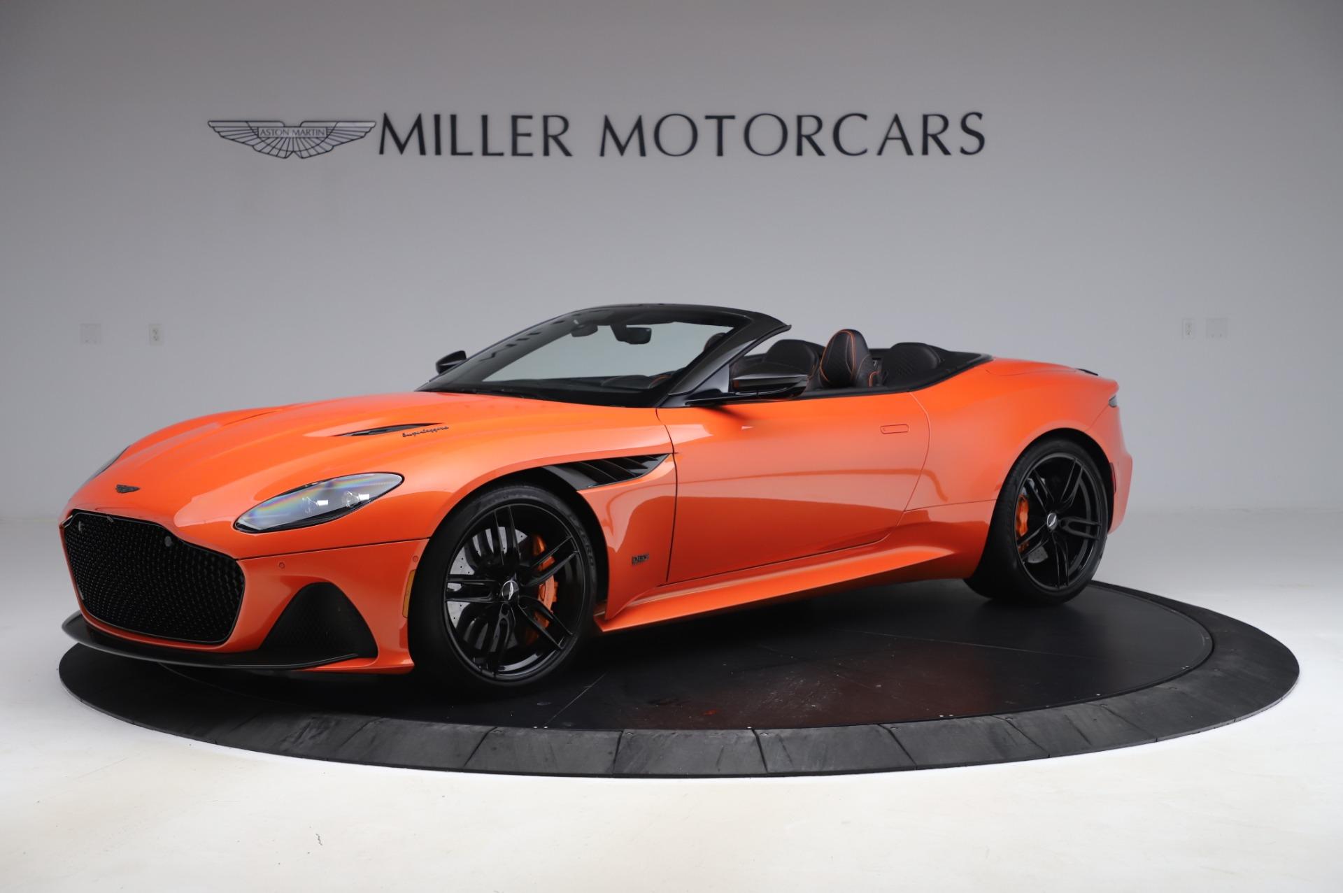 Used 2020 Aston Martin DBS Superleggera Volante for sale Sold at Bugatti of Greenwich in Greenwich CT 06830 1