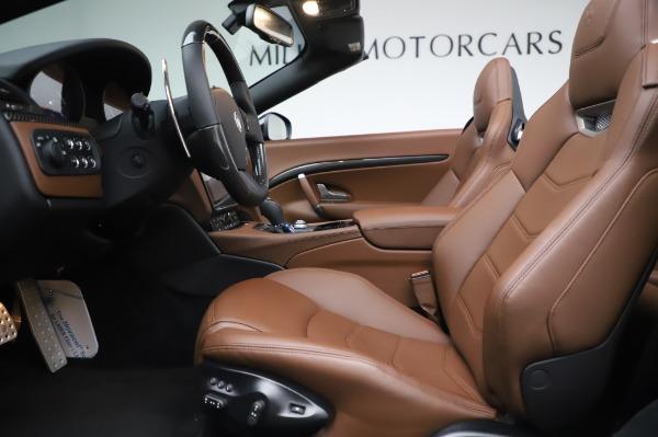 New 2019 Maserati GranTurismo Sport for sale $163,495 at Bugatti of Greenwich in Greenwich CT 06830 26