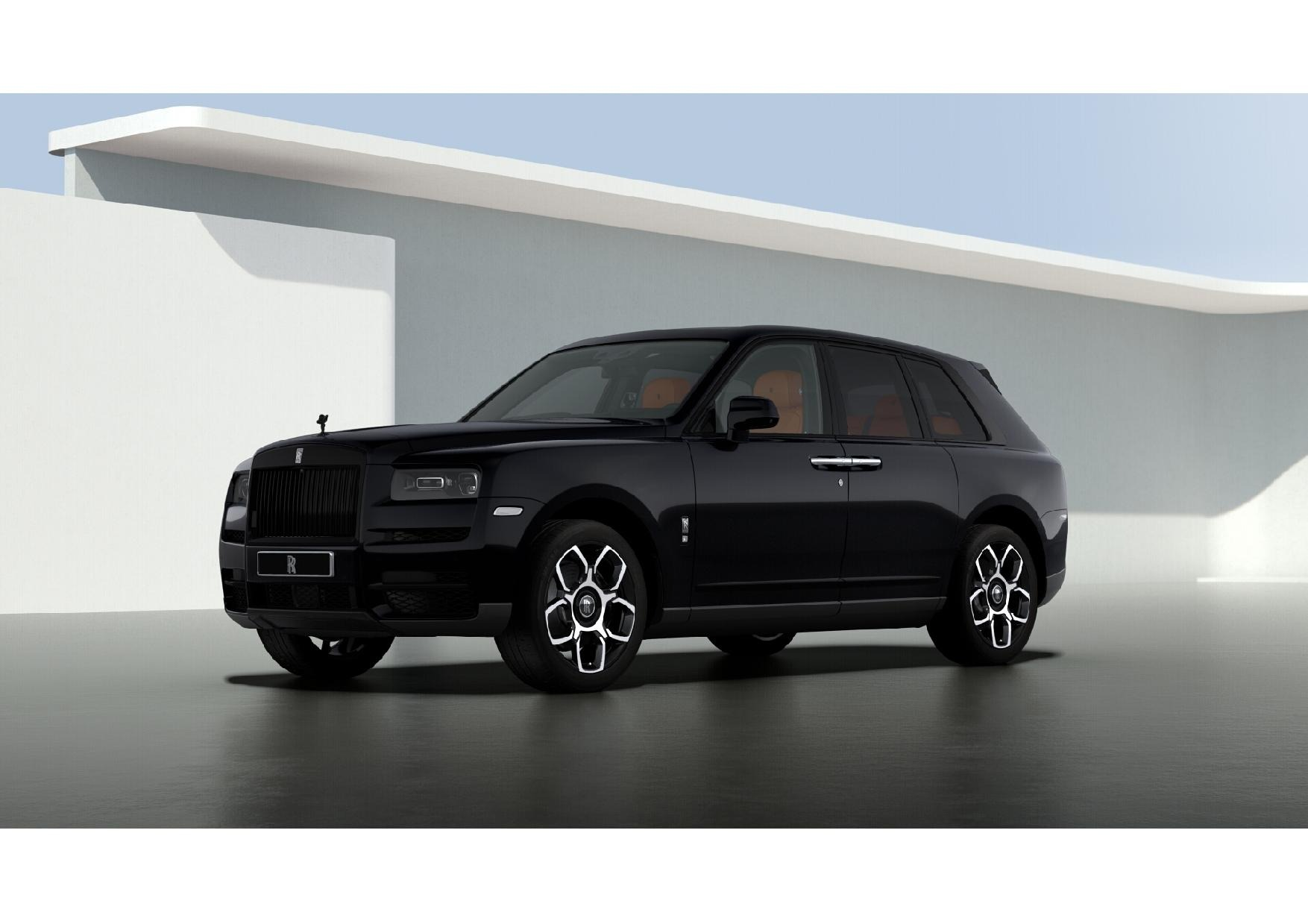 New 2021 Rolls-Royce Cullinan Black Badge for sale $433,225 at Bugatti of Greenwich in Greenwich CT 06830 1