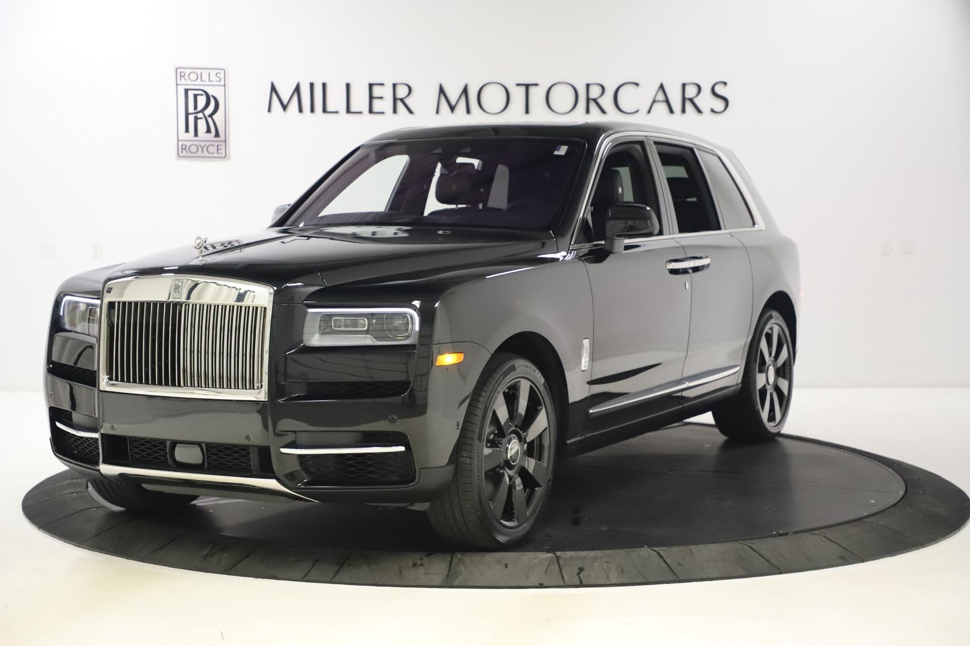 New 2021 Rolls-Royce Cullinan for sale $372,725 at Bugatti of Greenwich in Greenwich CT 06830 1