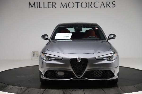 New 2020 Alfa Romeo Giulia Ti Sport Q4 for sale $48,595 at Bugatti of Greenwich in Greenwich CT 06830 12