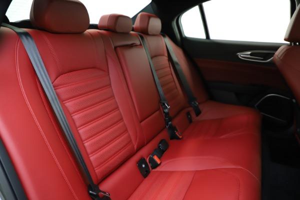 New 2020 Alfa Romeo Giulia Ti Sport Q4 for sale $48,595 at Bugatti of Greenwich in Greenwich CT 06830 26