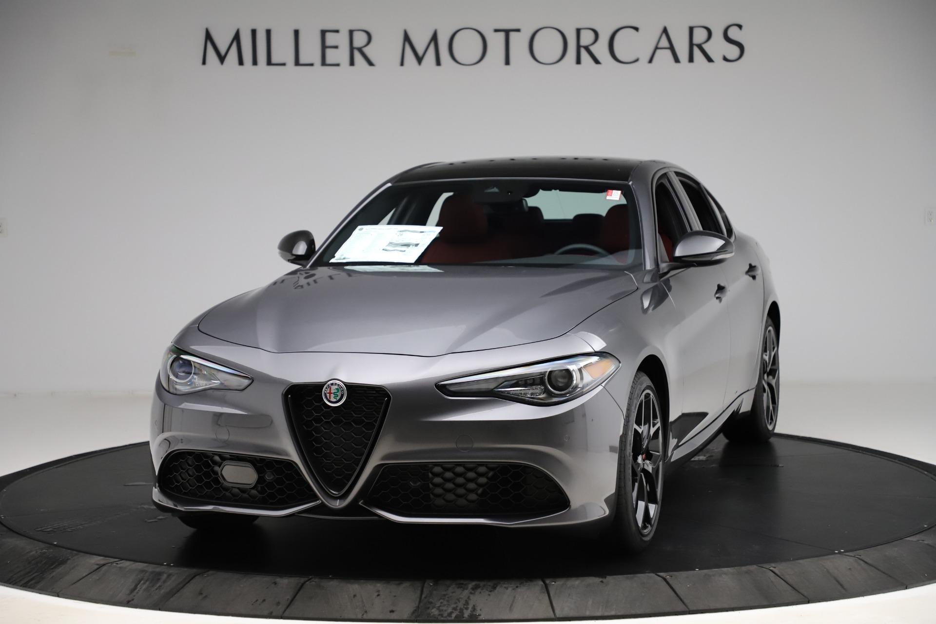 New 2020 Alfa Romeo Giulia Ti Sport Q4 for sale $53,595 at Bugatti of Greenwich in Greenwich CT 06830 1