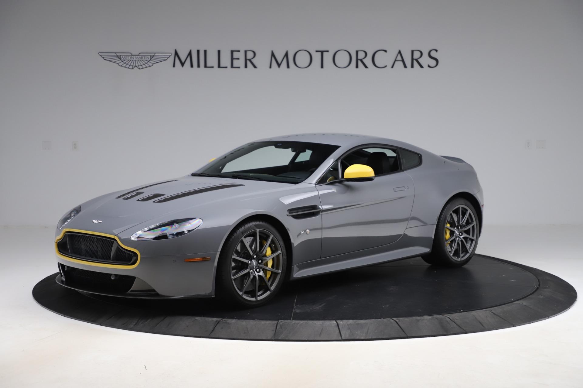Used 2017 Aston Martin V12 Vantage S for sale $185,900 at Bugatti of Greenwich in Greenwich CT 06830 1