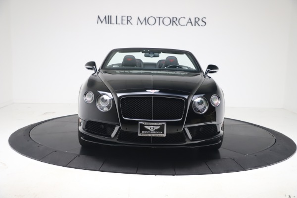 Used 2014 Bentley Continental GT Convertible V8 S for sale $109,900 at Bugatti of Greenwich in Greenwich CT 06830 10