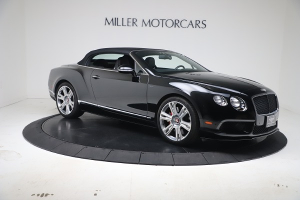 Used 2014 Bentley Continental GT Convertible V8 S for sale $109,900 at Bugatti of Greenwich in Greenwich CT 06830 18